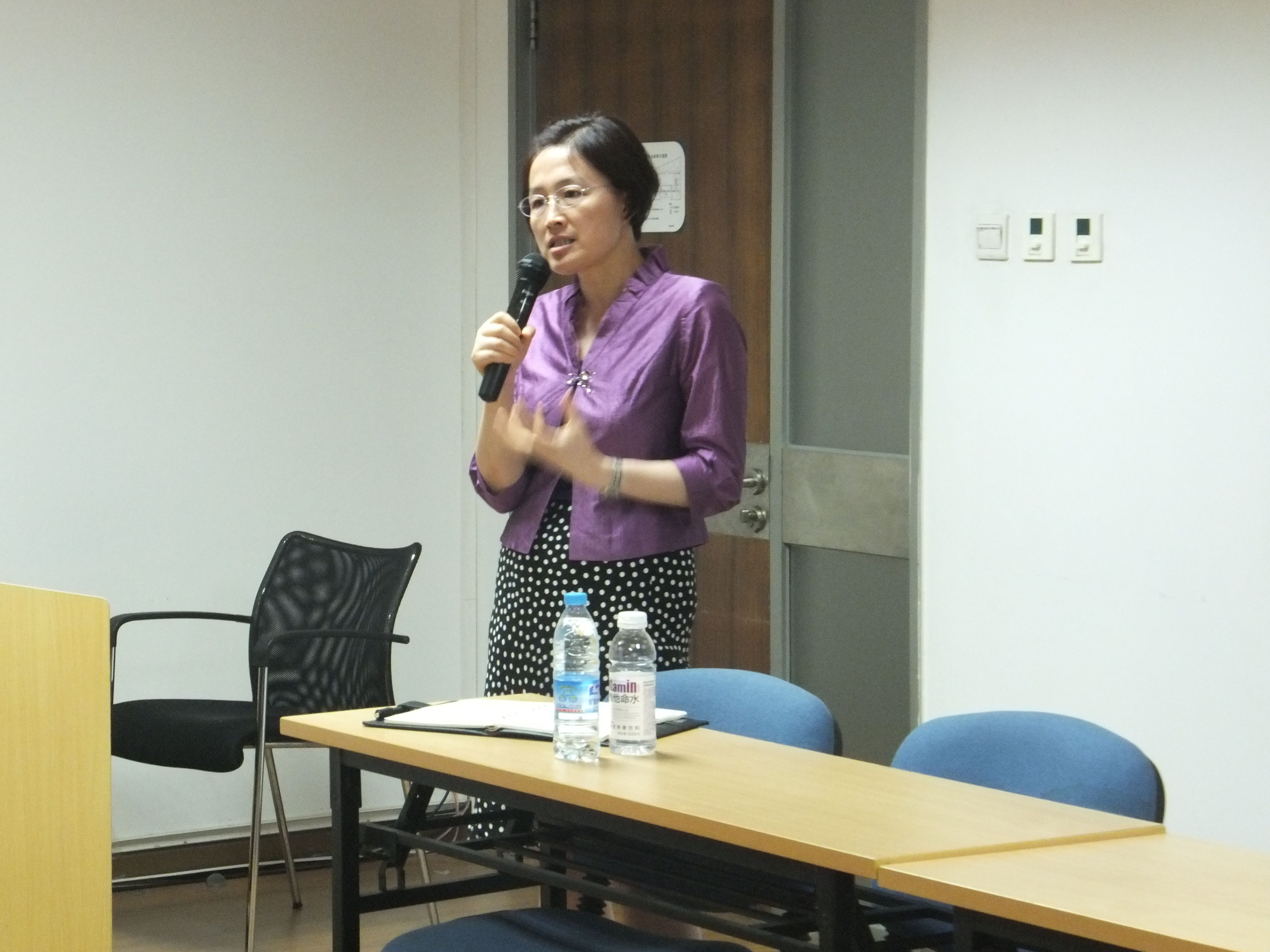 Ms Changhua Wu at Summer Law Institute 2013
